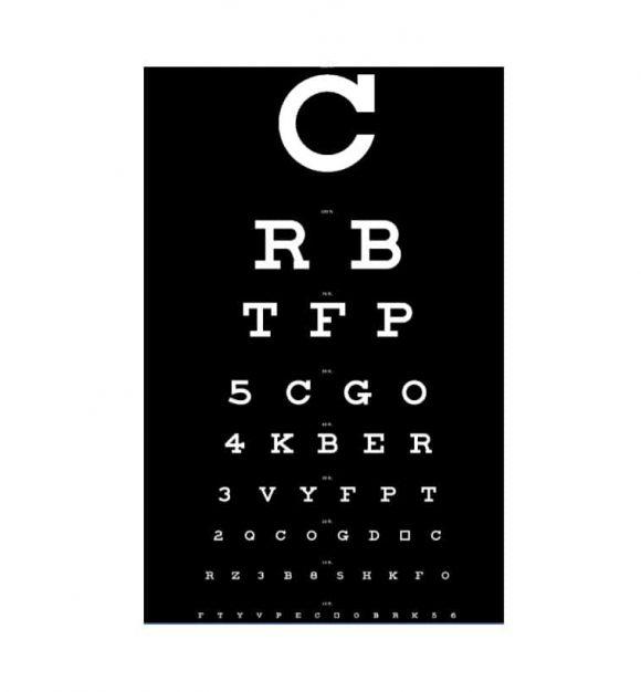 Eye Chart Template 02