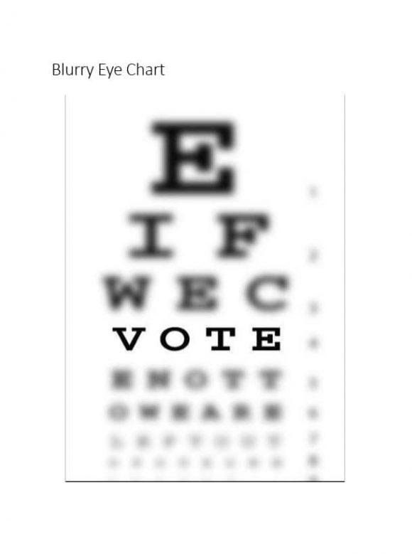 Eye Chart Template 09