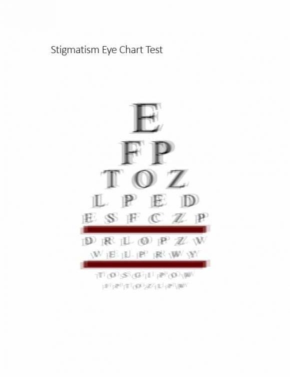 Eye Chart Template 21