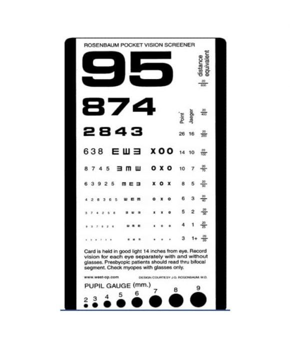 Eye Chart Template | Handheld Snellen Chart Heart Impulsar Co