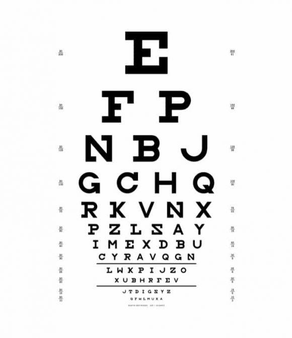 50 Printable Eye Test Charts - Printable Templates