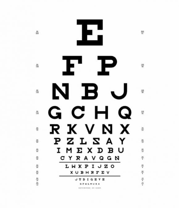 Eye Chart Template 33
