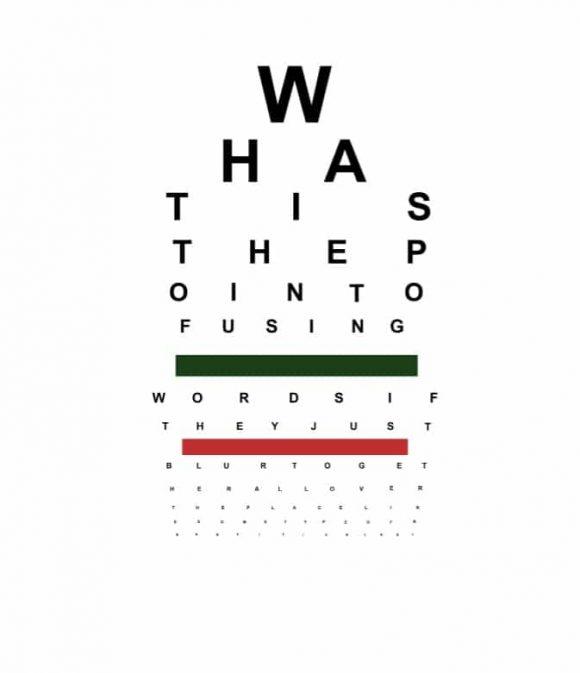 Eye Chart Template 35