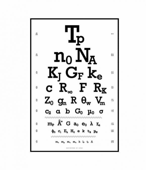 Eye Chart Template 36