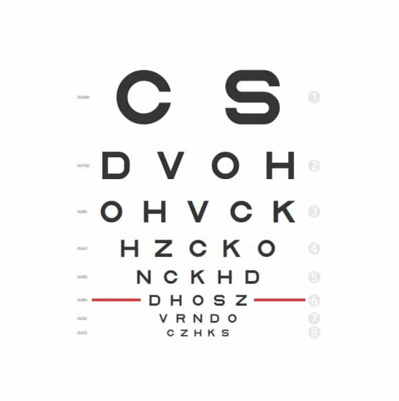 Printable Eye Test Charts  Printable Templates