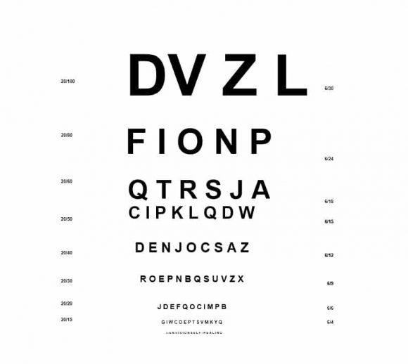 Eye Chart Template 49