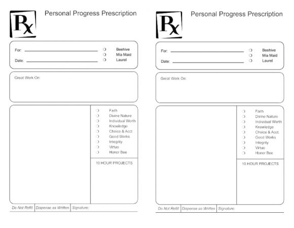 32 Real Fake Prescription Templates Printable Templates