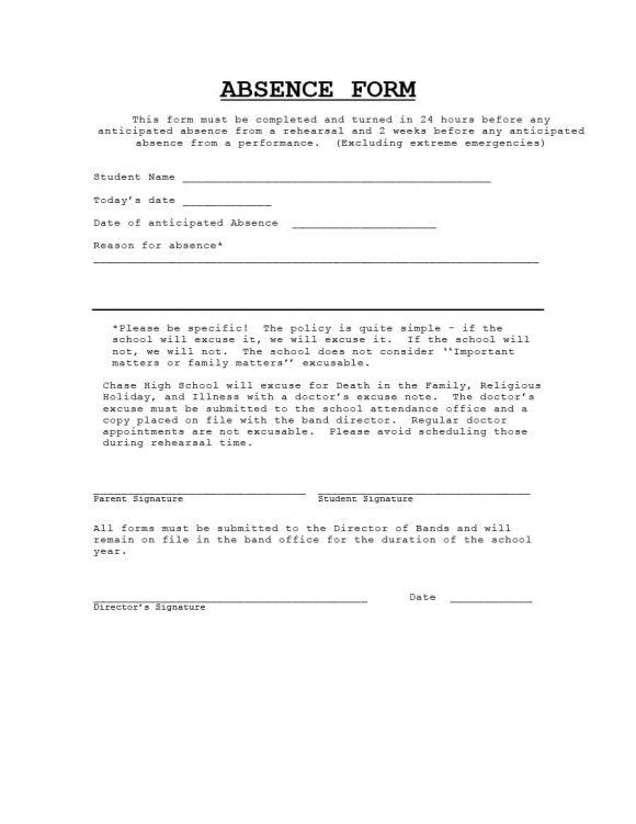 Doctors Note Template 16