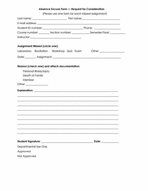 Doctors Note Template 26