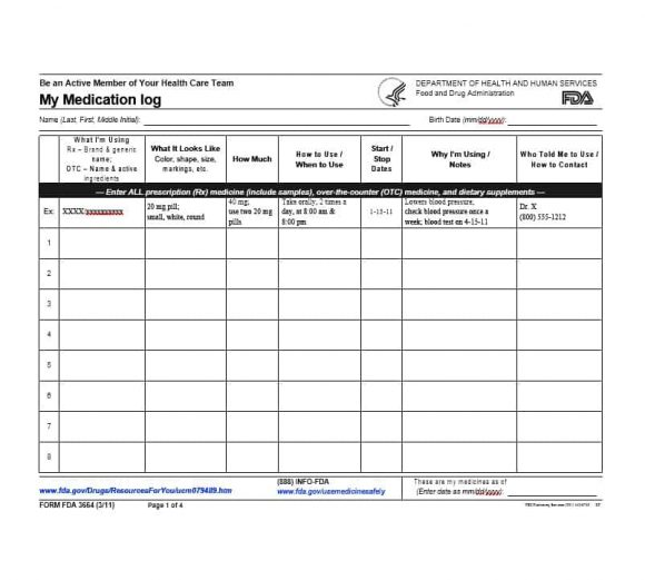 58 medication list templates for any patient word excel pdf medication list template 26 maxwellsz