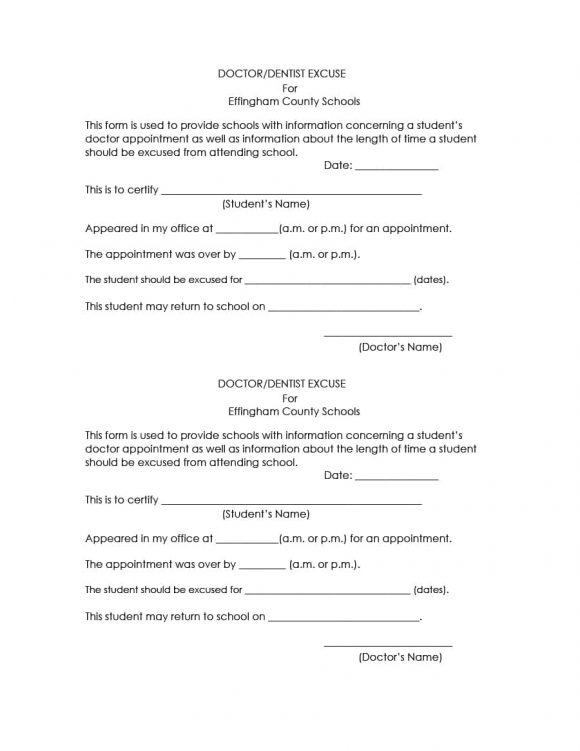 42 Fake Doctor S Note Templates For School Work Printable Templates
