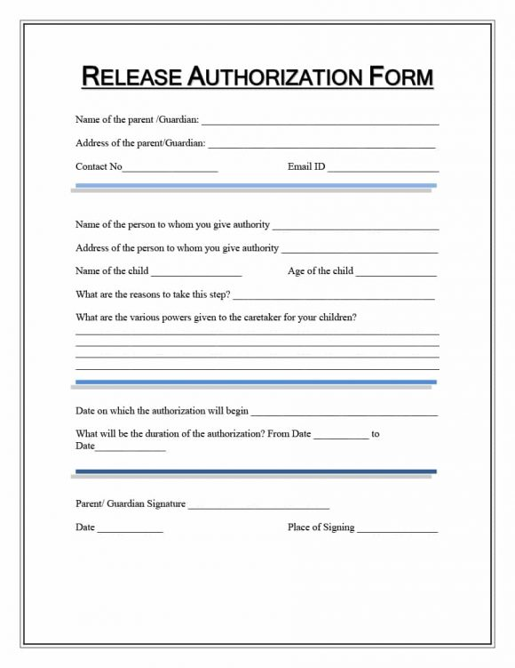 Superb Medical Records Release Form Release Of Information