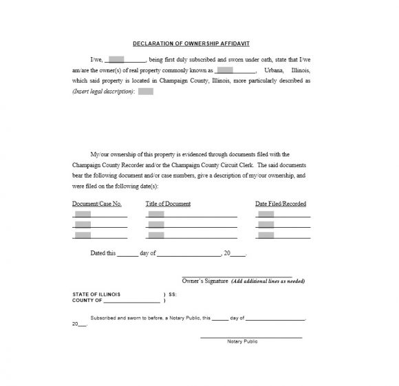 Certificate of Ownership Template 19