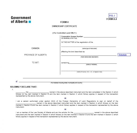 Certificate of Ownership Template 24