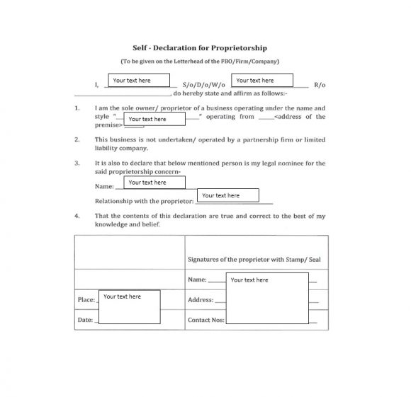 Certificate of Ownership Template 41