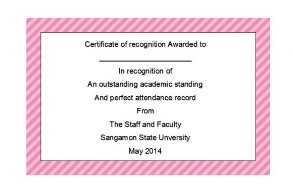 Certificate of Recognition 21