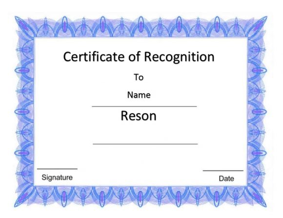 Certificate of Recognition 41