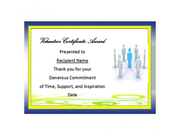 50 free volunteering certificates printable templates volunteering certificate templates yelopaper Image collections