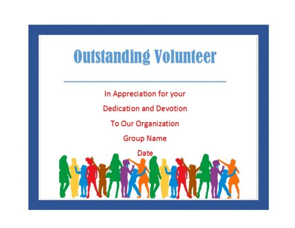 Volunteering Certificates 03