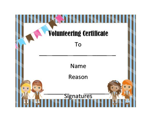 Volunteering Certificates 04