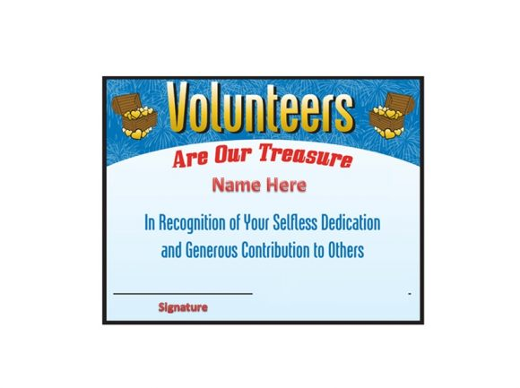 Volunteering Certificates 41