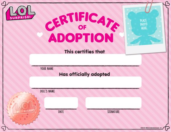 adoption certificate 07