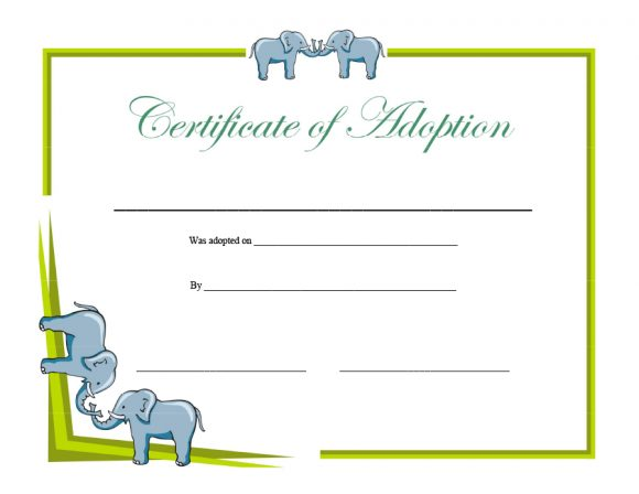 adoption certificate 11