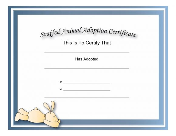 photograph about Printable Fake Adoption Papers identify 40+ Correct Bogus Adoption Certification Templates - Printable
