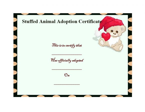 adoption certificate 19