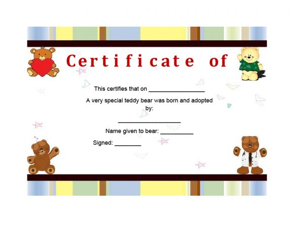 adoption certificate 24