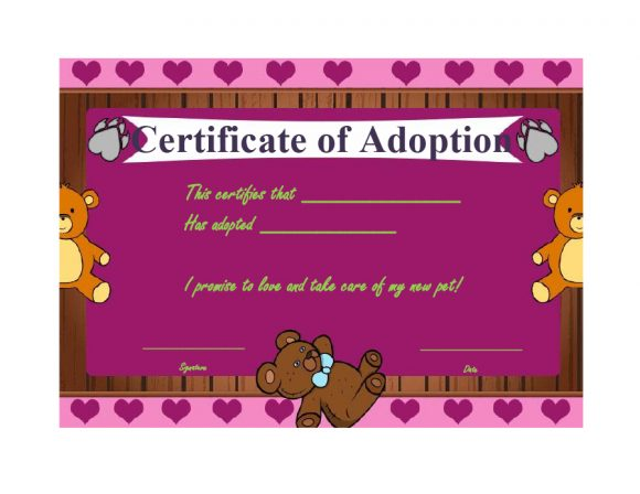 adoption certificate 26