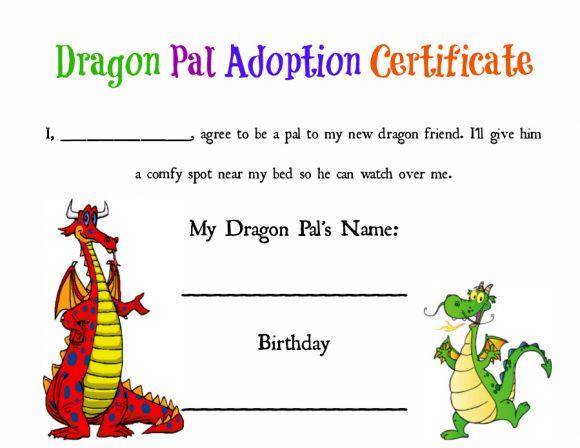 40  real  u0026 fake adoption certificate templates