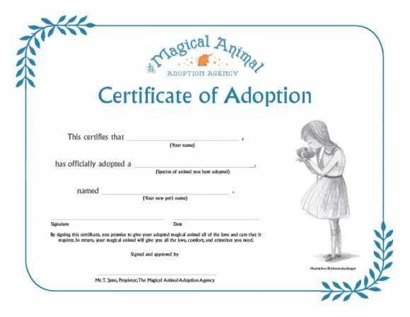 adoption certificate 39