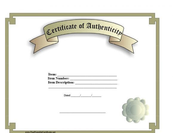 37 certificate of authenticity templates art car autograph photo certificate of authenticity 03 yelopaper Choice Image
