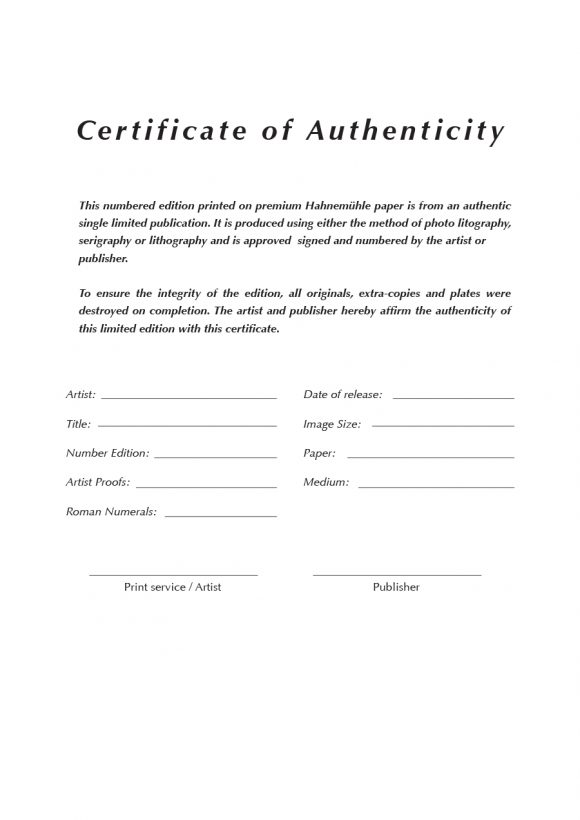 certificate of authenticity 17