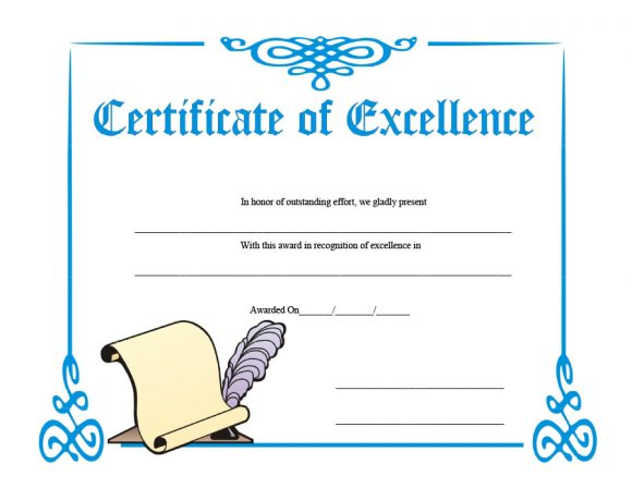 certificate of excellence 07