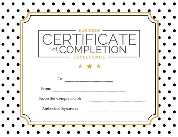 certificate of excellence 10