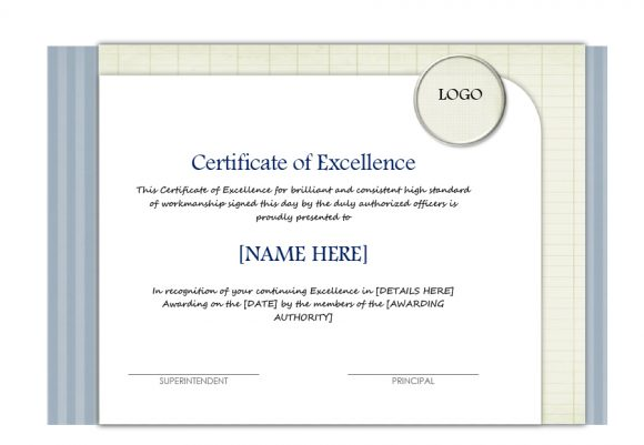 certificate of excellence 17
