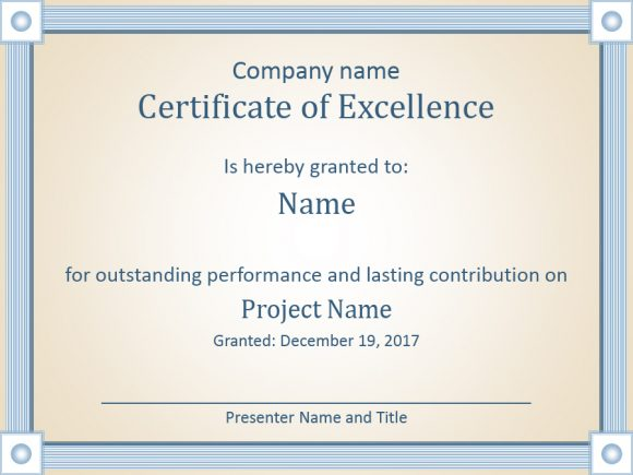 certificate of excellence 28