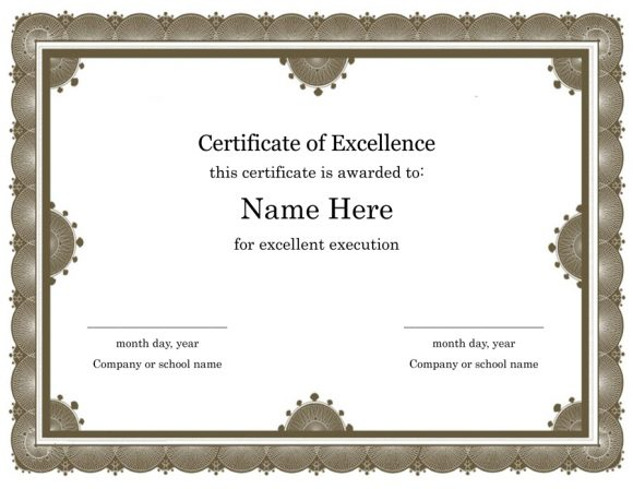 certificate of excellence 29