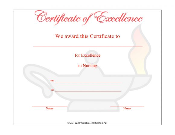 certificate of excellence 38