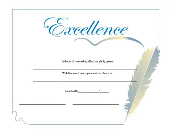 certificate of excellence 39