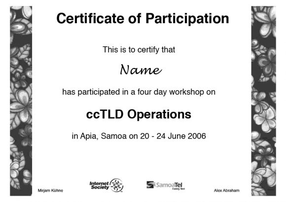 certificate of participation 04