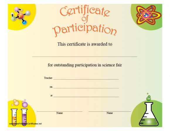 certificate of participation 44