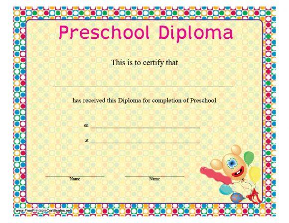graduation certificate 09