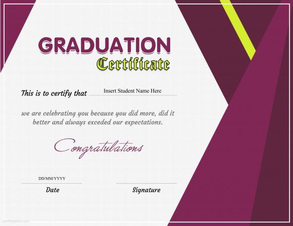 graduation certificate 14