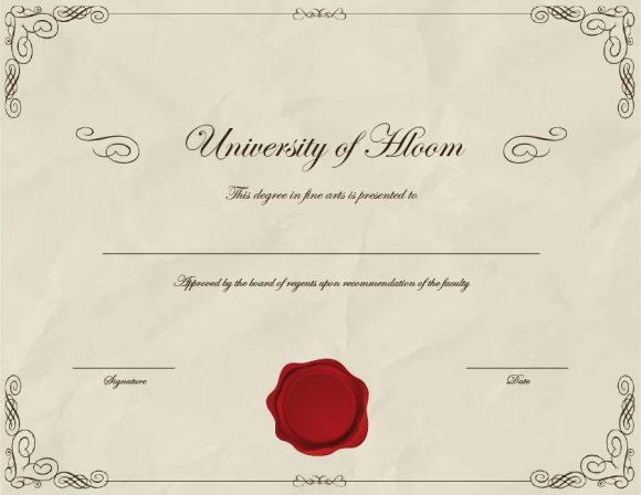 graduation certificate 23
