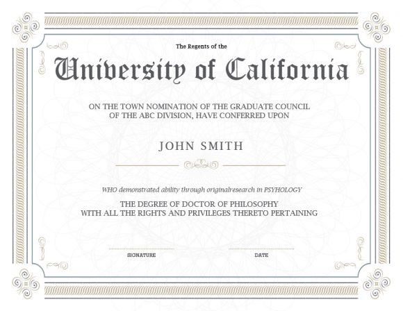graduation certificate 26