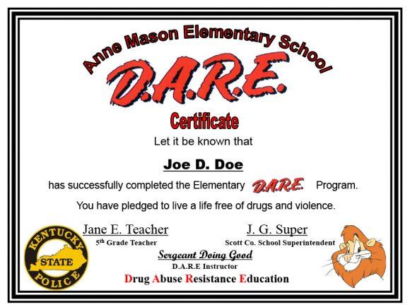 graduation certificate 41