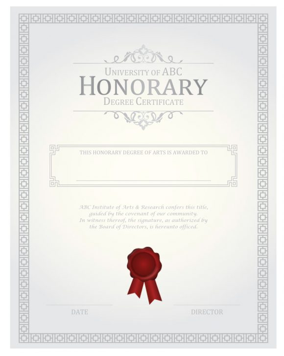 honor roll certificate 43